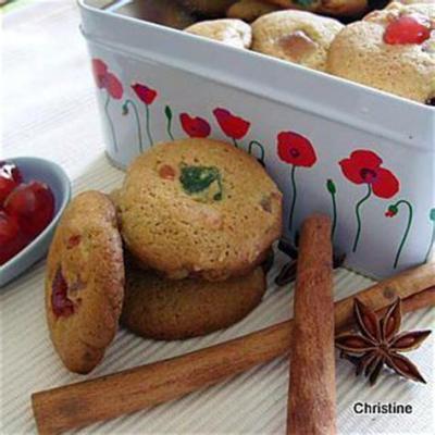 Cookies fruit confit